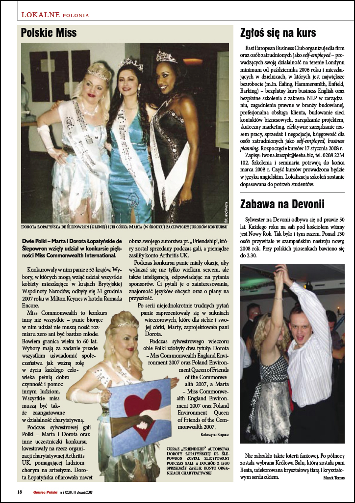 The Polish Times article 